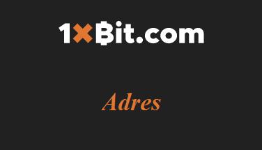 1xbit Adres