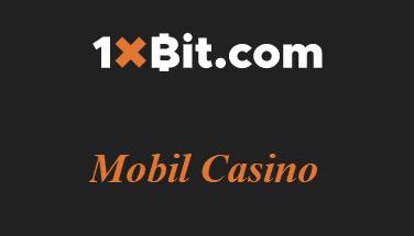 1xbit Mobil Casino